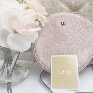 MICHAEL Michael Kors Pink Canteen Crossbody Bag
